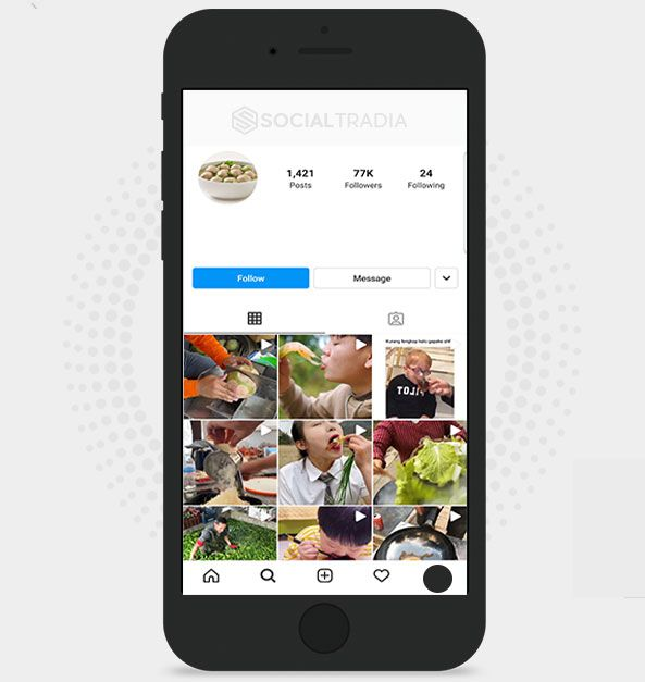 All About Food (77 k Followers)